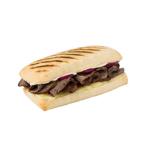 Steak & Cheese Panini
